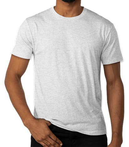 Next Level Tri-Blend T-shirt - Heather White