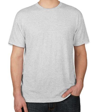 Next Level USA-Made Tri-Blend T-shirt - Heather White