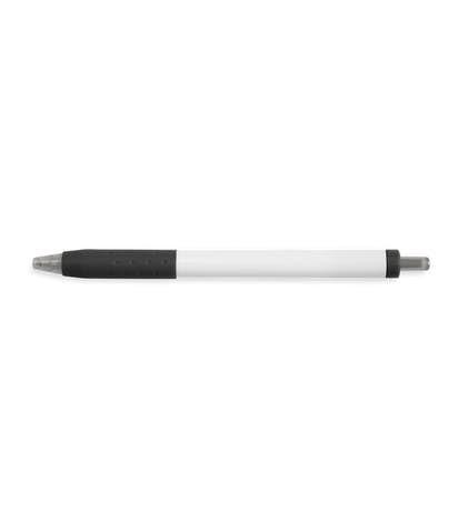 Paper Mate InkJoy White Body Click Pen (black ink) - Black