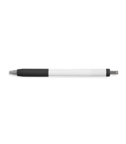 Paper Mate InkJoy White Body Click Pen (black ink) - Black
