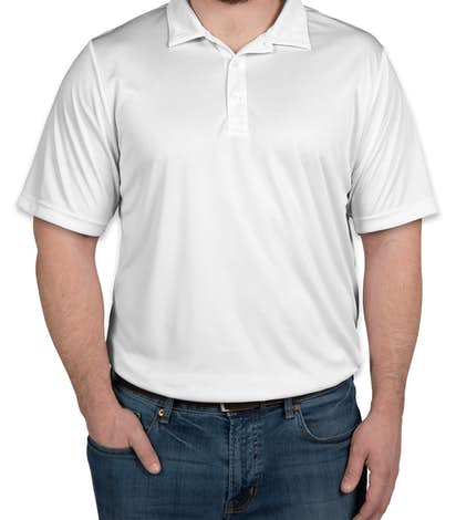 Team 365 Zone Performance Polo - White
