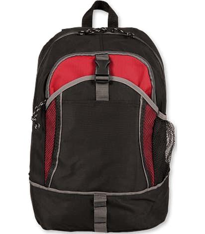 Escapade Backpack - Black / Red