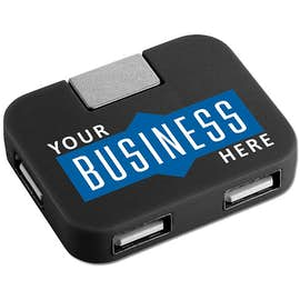 4-Port Rotas USB Hub