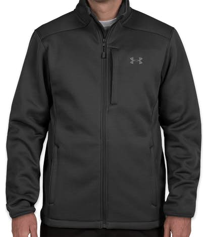 Under Armour Extreme Cold Gear Jacket - Black / Rhino Gray
