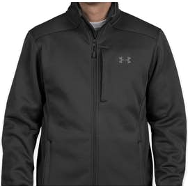 Under Armour Extreme Cold Gear Jacket - Color: Black / Rhino Gray