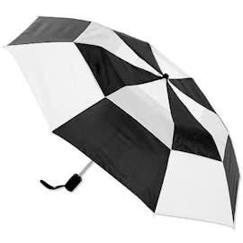 """Vitronic Multi-Tone Auto Open Vented 44"""" Umbrella"""