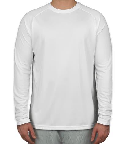 Sport-Tek Long Sleeve Performance Raglan - White