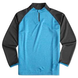 Augusta Reflective Quarter Zip Performance Shirt