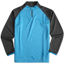 Augusta Reflective Quarter Zip Performance Shirt