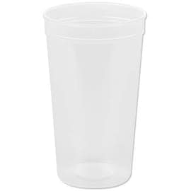 32 oz. Translucent Plastic Stadium Cup