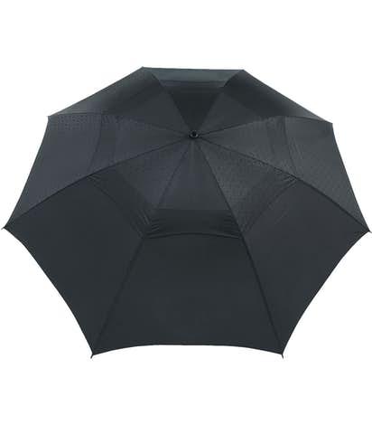 """64"""" Cutter & Buck Vented Golf Umbrella - Black"""