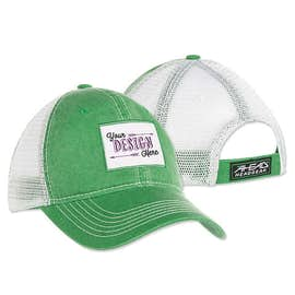 Rectangle Printed Patch Hat - Trucker