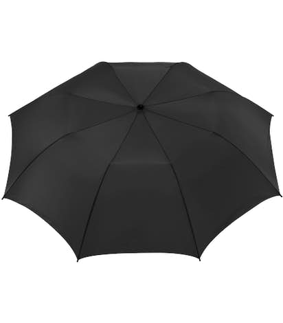 "58"" Auto Open Folding Golf Umbrella - Black"