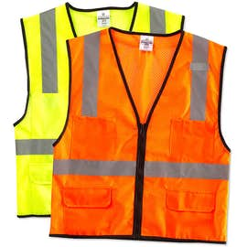 ML Kishigo Class 2 Pocket Mesh Safety Vest