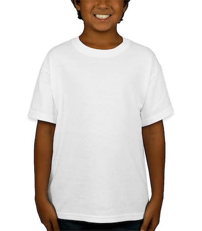 Gildan Youth 50/50 T-shirt - White