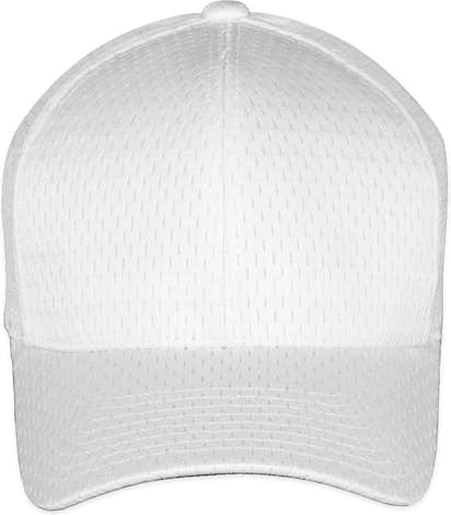 Yupoong Athletic Mesh Flexfit Hat - White