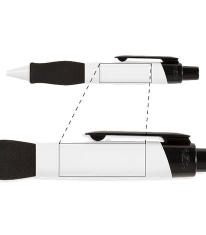 BIC XXL Pen (black ink) - White / Black