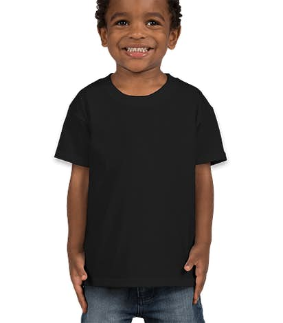 Fruit of the Loom Toddler 100% Cotton T-shirt - Black