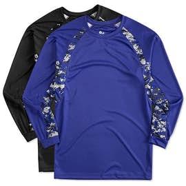 Badger Digital Camo Long Sleeve Performance Shirt