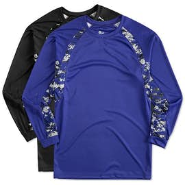 Badger Digital Camo Long Sleeve Performance Shirt