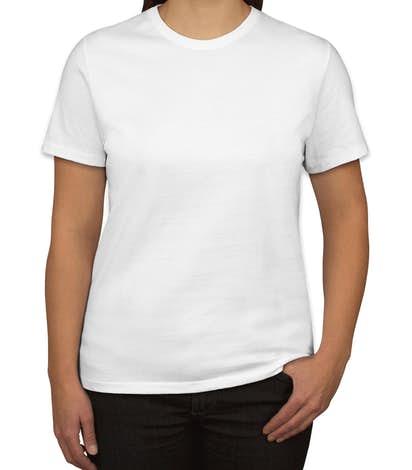 Port & Company Women's 100% Cotton T-shirt - White