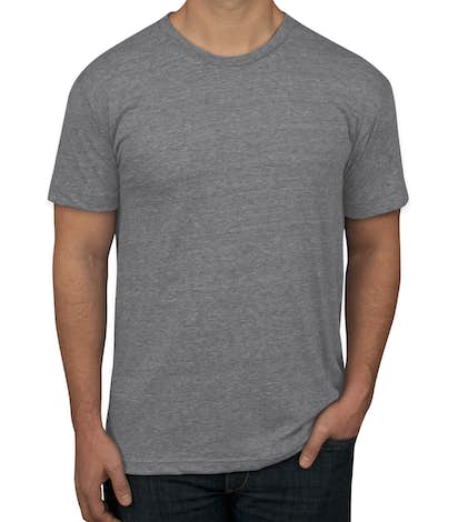 995288f360e5 Custom American Apparel USA-Made Tri-Blend T-shirt - Design Short ...