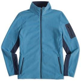 Port Authority Women's Colorblock Full Zip Microfleece Jacket