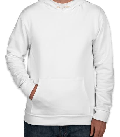 Next Level Blended Pullover Hoodie  - White