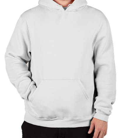 Soffe 50/50 Pullover Hoodie - White