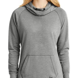 New Era Women's Tri-Blend Pullover Hoodie - Color: Shadow Grey Heather
