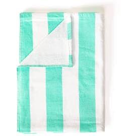 Port Authority Lightweight Embroidered Cabana Stripe Beach Towel