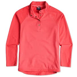 Charles River Women's Snap Button Pullover With Pockets