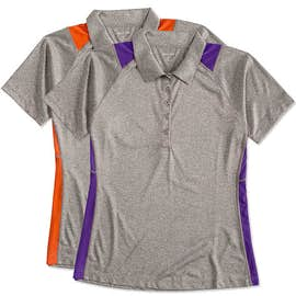 Sport-Tek Women's Contrast Performance Polo