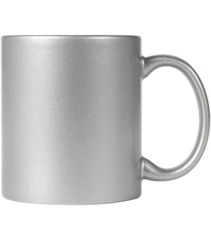 11 oz. Metallic Mug - Silver