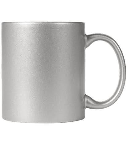 11 oz. Metallic Mug - Silver