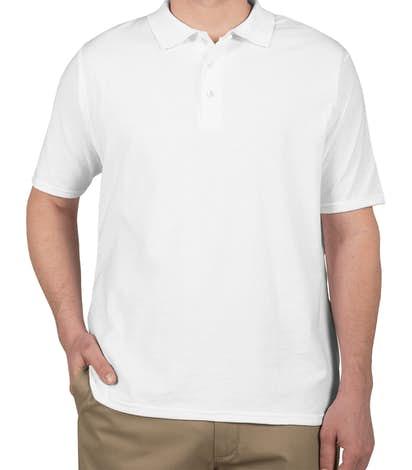 Hanes X-Temp Polo - White