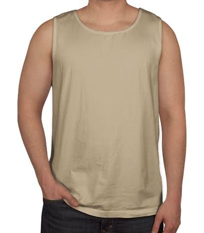 Comfort Colors 100% Cotton Tank - Sandstone