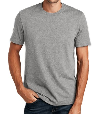 District 100% Recycled T-shirt - Light Heather Grey