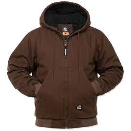 Berne Highland Washed Cotton Duck Hooded Jacket