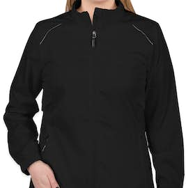 Core 365 Women's Lightweight Full Zip Jacket - Color: Black