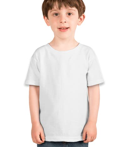 Gildan Toddler 100% Cotton T-shirt - White