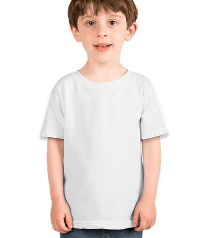 Canada - Gildan Toddler 100% Cotton T-shirt - White