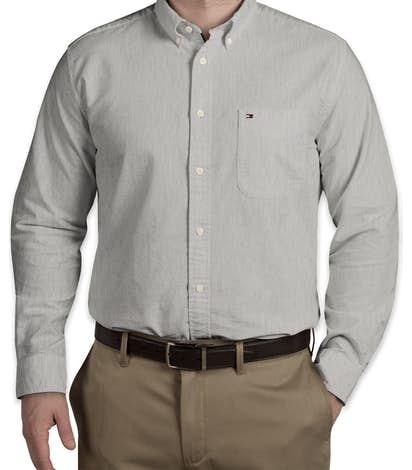 6ffccb93e42150 Tommy Hilfiger England Solid Oxford Shirt - Heather Grey