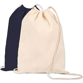 Lightweight 100% Cotton Drawstring Bag