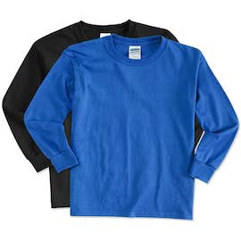 Canada - Gildan Youth Ultra Cotton Long Sleeve T-shirt
