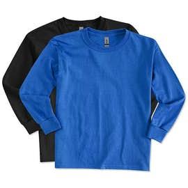 Canada - Gildan Youth Ultra Cotton Long Sleeve T-shirt