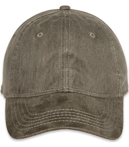 Dri Duck Waxy Twill Hat - Moss