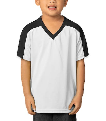 High Five Youth Genesis Performance Jersey - White / Black