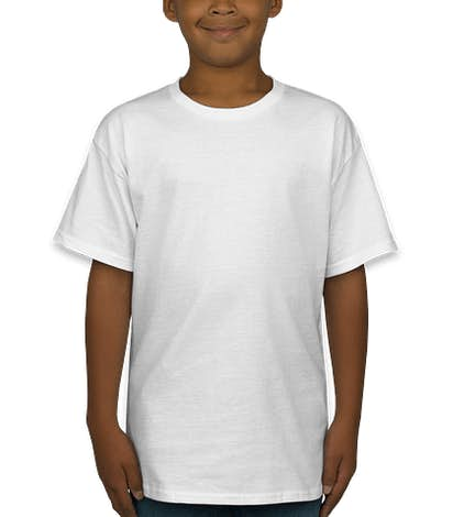 Hanes Youth Tagless T-shirt - White