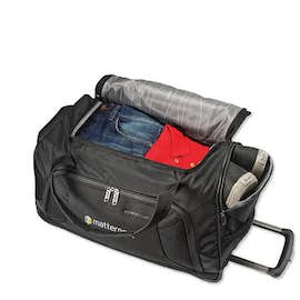 "American Tourister 22"" Zoom Wheeled Duffel Bag"